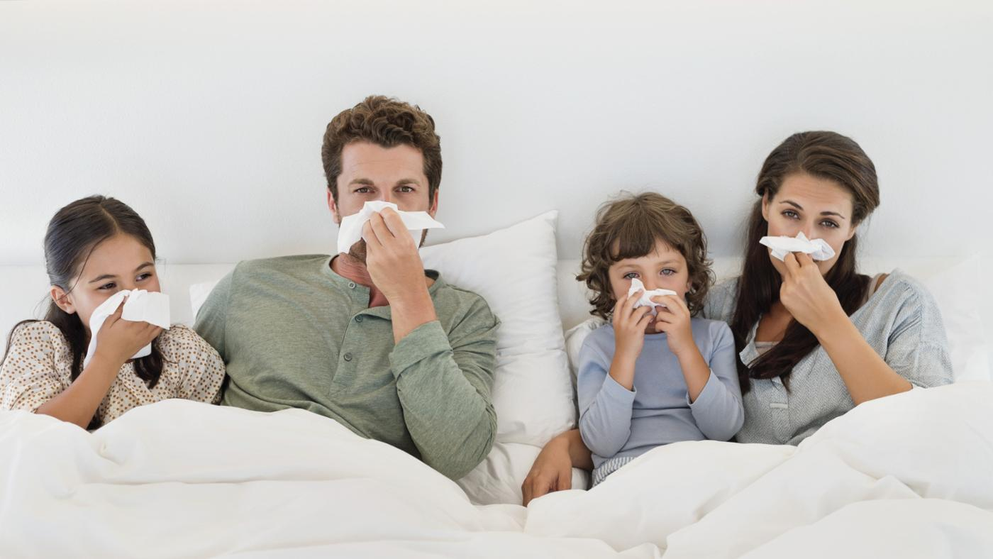 family-with-flu